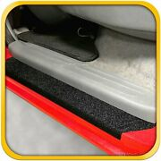 05-15 Fits Tacoma Double Cab 4pc Door Sill Protect Step Threshold Shield Custom
