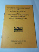 1976 Employees W/ Drinking Problems Scl Landn Family Lines System Railroad 492