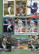 Gleyber Torres New York Yankees 17 Card Lot W/rookies And Inserts