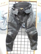 Nos Ladies Size 14 Technical Leather Motorcycle Pants Tplvp150-14