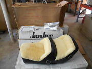 Nos Amco Westerner Black Leather And Wool Seat Yamaha Xs1100e 2319 29-1940