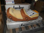 Nos Amco Westerner Brown Leather Wool Seat Suzuki 1980 Gs750e Gs1100e 29-1800