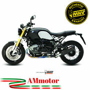 Mivv Bmw R Nine T 2015 15 Exhaust Slip-on Suono Black Motorcycle Approved