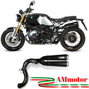 Exhaust Mivv Bmw R Nine T 2014 14 Motorcycle Muffler X-cone Black Approved High
