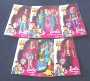 Lot Of 6 Disney Toy Story 3 Barbie And Ken Dolls - Toy Story 2 Tour Guide
