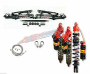 Houser +2.25 A-arms Elka Legacy Long Travel Front Rear Shocks Suspension 450r