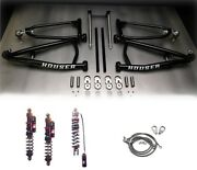 Houser Long Travel Mx A-arms Elka Stage 4 Front Rear Shocks Suspension Yfz450x