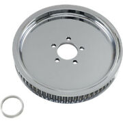 Drag Specialties Chrome Smooth Rear 65t 1.5 Wheel Pulley Harley Big Twin 84-99