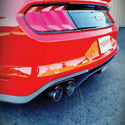 Mbrp 3 Cat Back Exhaust W/ Carbon Fiber Tips For 2018-2020 Ford Mustang 5.0l