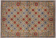 Handmade William Morris Wool Rug 5and039 11 X 9and039 1 - P7106
