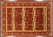 6and039 8 X 9and039 9 William Morris Hand Knotted Wool Area Rug - Q1682