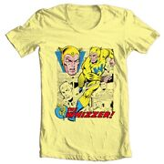 The Whizzer T Shirt Golden Age Marvel Comics Liberty Legion All Winners Tee