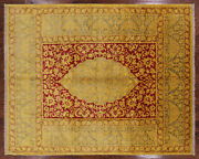 William Morris Hand Knotted Wool Area Rug 8and039 3 X 10and039 1 - Q1608