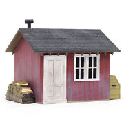 Woodland Scenics O Scale Built-up Building/structure Work Shed