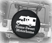 Spare Tire Cover Home Sweet Motorhome Auto Accessories