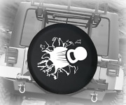 Spare Tire Cover Kettlebell Crossfit Workout Ripping Through Auto Accessories