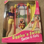Giggles And039n Swing Barbie And Kelly 1998