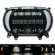 New For Motorcycle Road Glide 2015-2020 Dual Led Headlight Projector Headlamp