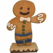 Gingerbread Boy Cookie 1 Christmas Display Prop Decor Statue