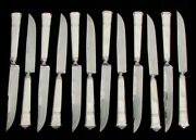 And Co Windham 12 Sterling Silver 9 Steak Knives