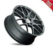 New 4ea 22 Staggered Tsw Wheels Nurburgring Matte Gunmetal Rotary Forged S9