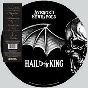 Avenged Sevenfold - Hail To The King [new Vinyl Lp] Explicit Picture Disc
