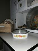 Vintage Corning Ware A-1-b Spice Of Life 1 Quart Covered Casserole