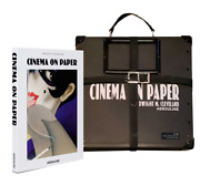 [deluxe Edition] Film Reel Casing W/ Book Cinema On Paper Inscribed By Author