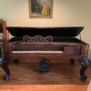 Wm Knabe And Co. Square Grand Piano From 1850and039s 5724