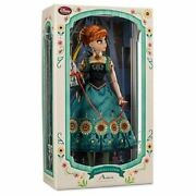 Disney Limited Edition Frozen Fever Anna Doll 17--new