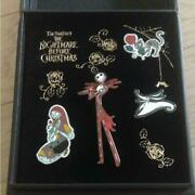 Disney Store Nightmare Before Christmas Pins Set Limited Edition 1000