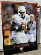 Original Vince Young Large Hall Of Honor University Of Texas Football Banner