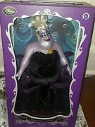 Disney Deluxe Ursula Doll 17 Limited Edition