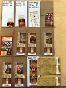 Collectors Lot / Collection Of Kansas City Chiefs Nfl Tickets And Ticket Stubs