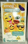 Emoji Fun Games The Game Be First To Collect 3 Poop Cards Nib