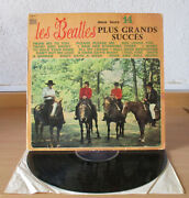 Rare French Lp The Beatles Horse Cover Odeon Osx 231 Amazing Rare Display Sleeve