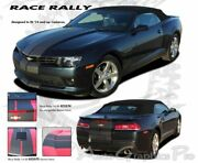 Pace Car Rally Racing Stripes Indy Vinyl Graphic Pro 3m Decals 2014 Camaro Ss Rs