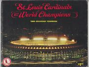 St. Louis Cardinals 1968 World Champions Yearbook - Complete, Intact
