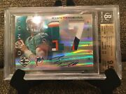 2012 Limited Ryan Tannehill 4 Color Jersey Prime Auto /25 Bgs 9.5 Gem Mint W/10