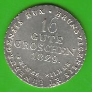 Hanover 16 Gute Penny 1829 Better Than Xf Nswleipzig
