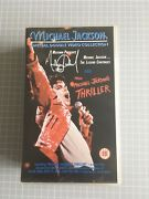 Michael Jackson-the Legend Continues/making Of Thriller Double Vhs Video Set