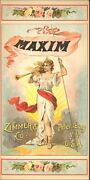 Vintage Tobacco Crate Shipping Labels Circa 1880s/90s Maxim Zimmer And Co.-----7