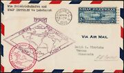 U.s. C15 Fvf Used On First Day Cover Nice 11920