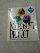 Vintage Microsoft Project Planning Software For Windows Version 4.0 Read