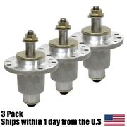 3pk Spindle Assembly For Exmark Lazer Z Hp Zero Turn 44 48 52 Deck 103-1105
