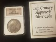1783 Mo Ff Mexico 8 Reales El Cazador 8r Shipwreck Coinngc Certified With Box