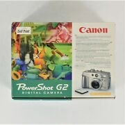 Canon Power Shot G2 Digital Camera Preowned And Untested Selling For Parts Only