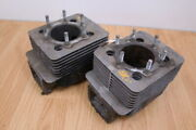 1987 Yamaha Srv 540 Left And Right 56 Hp Cylinders Jug 8h8