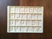 Vintage 1972 Fisher Price School Play Desk Replacement Letter Tray