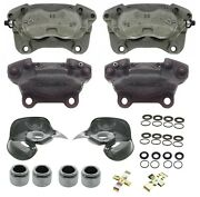 Reman Front And Rear Calipers And Repair Kit Pistons For Mercedes R107 560sl 5.6l V8